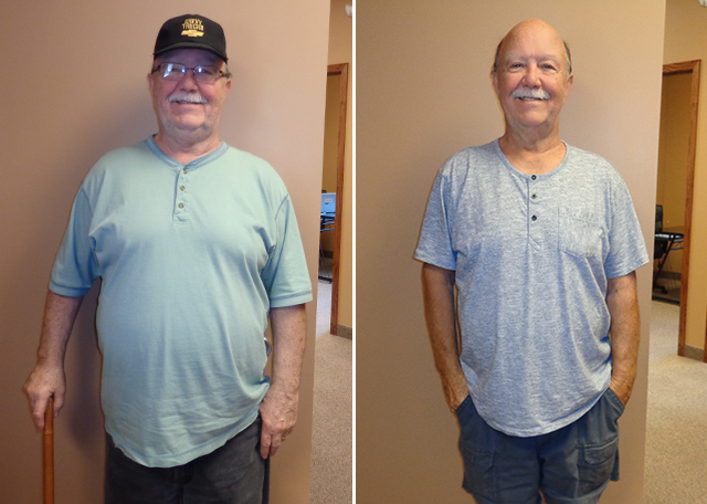 John M 32lbs Weight Loss Before and After