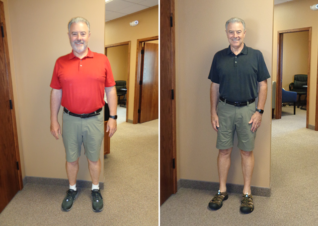 Weight Loss Before and After Mark J